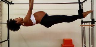 sheron menezzes grávida pilates