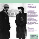 Women's History Magazine, print copy