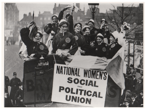 National Women's Social and Political Union Rally