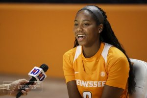 Jordan Reynolds said she is excited for the season. Photo by UT Athletics.