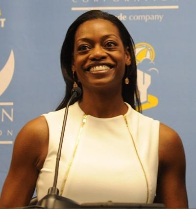 Amber Stocks was named Chicago Sky coach and general manager on Tuesday. Photo courtesy of Chicago Sky.