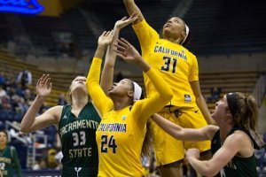 Kristine Anigwe currently ranks fourth in points per game in NCAA Division I. Photo by Ariel Nava.