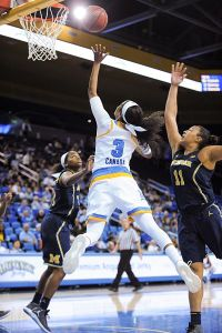 Jordin Canada penetrated to the basket at will. Photo by Zyaire Porter/T.G.Sportstv1.
