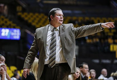 Joe Legerski is in his 14th season as Wyoming's head coach, and his 30th season of coaching overall. Photo by Troy Babbitt/Wyoming Media Athletics.