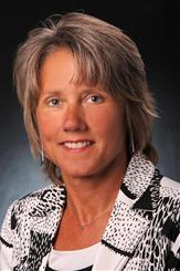 NCAA Division I Women's Basketball Committee chairwoman Terry Gawlik. Photo courtesy of Wisconsin Athletics.