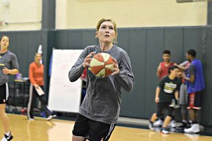 Carolyn Swords came to the Storm over the winter from the New York Liberty. Photo courtesy of Seattle Storm.