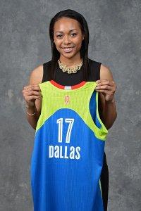 Allisha Gray. Photo by Jennifer Pottheiser/NBAE via Getty Images.