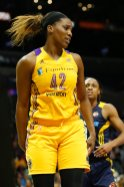 Jantel Lavender has played a crucial role off the bench for the Sparks. Photo by Maria Noble/WomensHoopsWorld.
