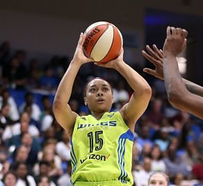 Allisha Gray is on track to be Rookie of the Year. Photo by Layne Murdoch/NBAE via Getty Images.