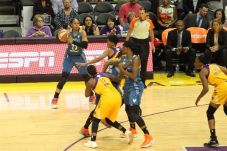 Maya Moore weighs her passing options. Photo by Benita West/TGSportsTV1.