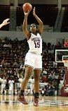 Teaira McCowan. Photo courtesy of Mississippi State Athletics.