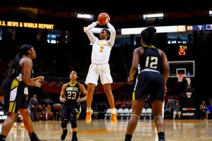 Evina Westbrook. Photo By Summer Simmons/Tennessee Athletics