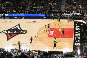 The Mandalay Bay Events Center is home to the Las Vegas Aces. Photo by Lisa Campos.