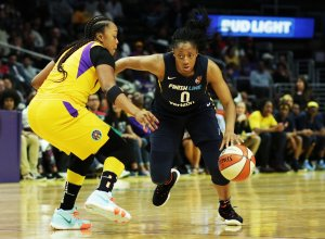 Kelsey Mitchell is the second-leading scorer on the team, averaging 12.8 points per game. Maria Noble/WomensHoopsWorld.
