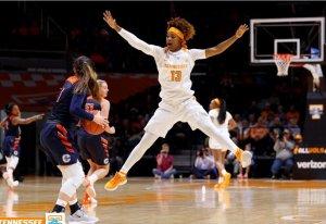 Jazmine Massegill. Photo courtesy of Tennessee Athletics.
