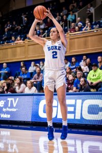 Haley Gorecki. Photo courtesy of Duke Athletics.