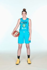 Katie Lou Samuelson. Photo by Gary Dineen/NBAE via Getty Images.
