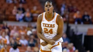 Joyner Holmes will bring athleticism and skill to the Seattle Storm, her new coach says. Photo courtesy of Texas Athletics.