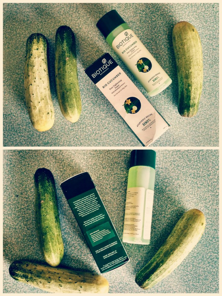 Biotique Botanicals Bio Cucumber Pore Tightening Toner