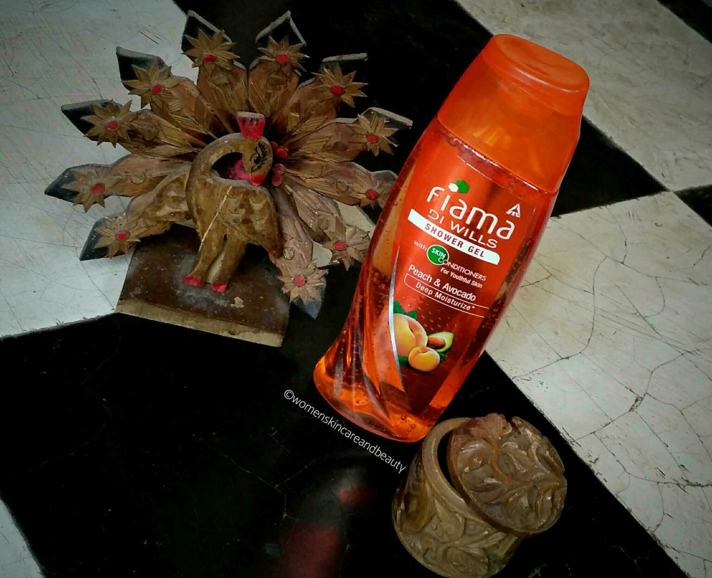 Fiama Di Wills Peach And Avocado Shower Gel