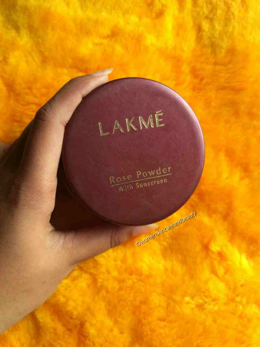 Lakme Rose Powder Review