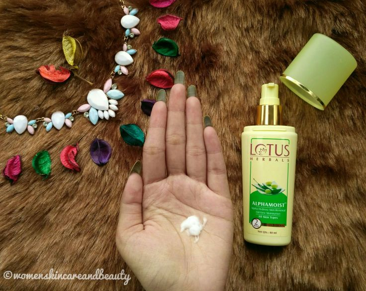 Lotus Herbals Alphamoist Review