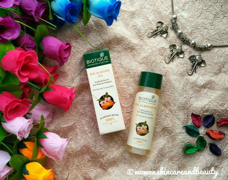 Biotique Bio Almond Oil Soothing Face & Eye Makeup Cleanser