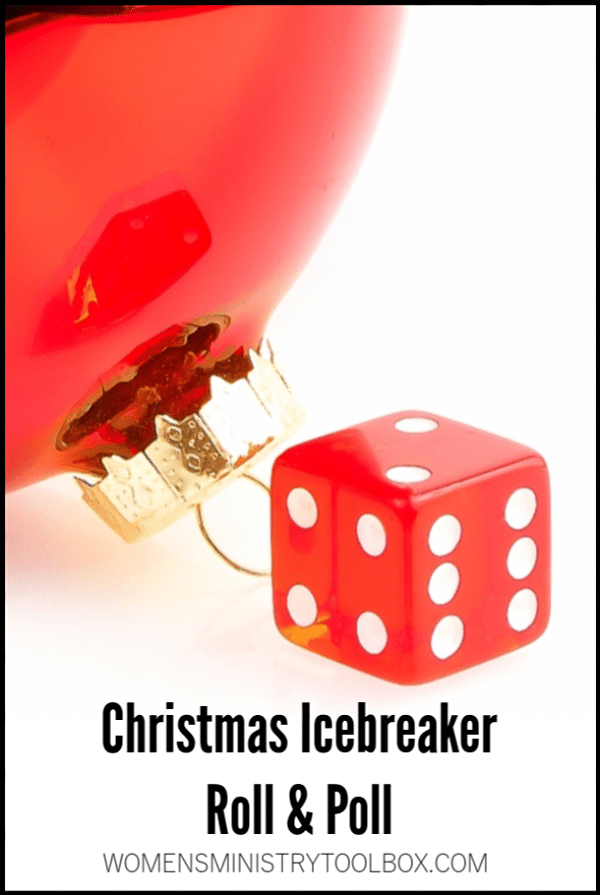 icebreaker christmas roll poll