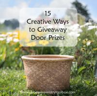 15 Creative Ways to Giveaway Door Prizes - Women's ...