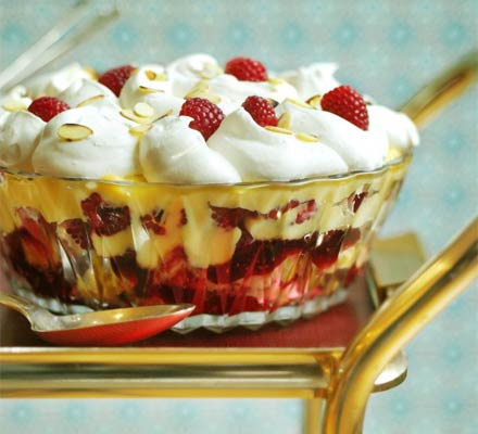 Gran's Recipe of Sherry Trifle