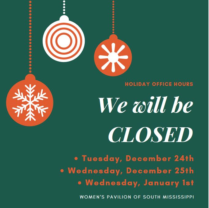 Christmas and New Years hours 2019