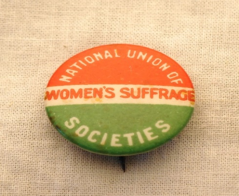 National Union of Women's Suffrage Societies badge