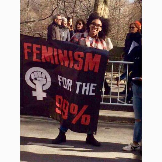 New York City Women's March 2018