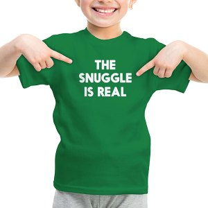 the-snuggle-is-real-kids-t-shirt
