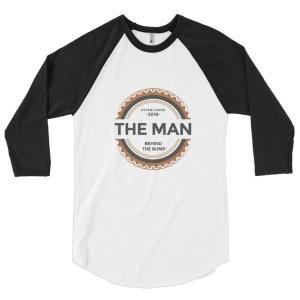 The Man Behind The Bump 3/4 Sleeve Shirt