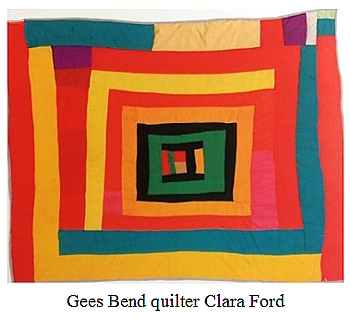 Gees Bend Quilter Clara Ford
