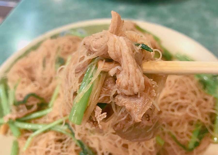 【龍江路美食】岡山正味羊肉,羊肉炒米粉好吃!羊排湯肉給得大方,還可免費加湯