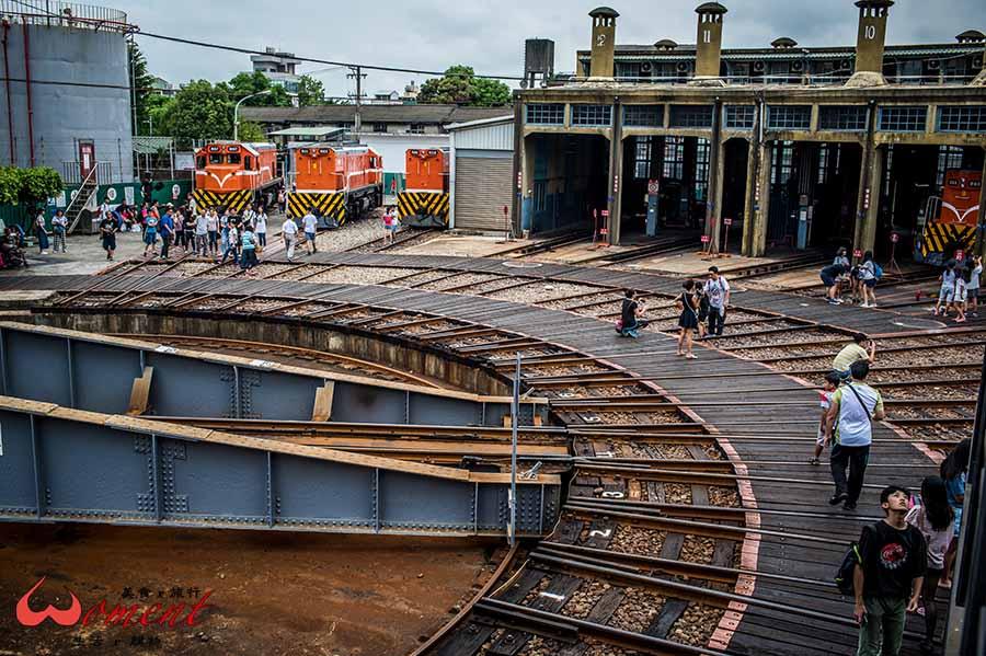 【彰化景點】免費參觀百年歷史縣定古蹟「扇形車庫」,紀念前人的智慧,保留屬於蒸氣火車的獨家記憶