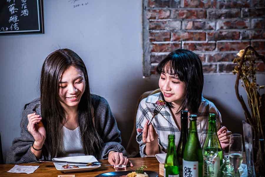 台北東區餐酒館Bistro【樂蕾 日本酒·歐陸料理】200款日本進口酒讓你大開眼界,清酒入門從這裡開始!(已歇業)