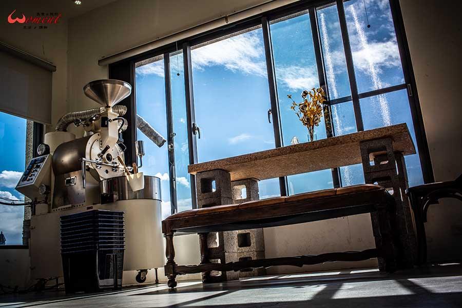 北海岸三芝咖啡館推薦!秘境別墅「錘子咖啡」有著職人烘豆、品測咖啡的日常,網紅打卡熱點咖啡廳,讓手沖咖啡陪你度過悠閒下午茶