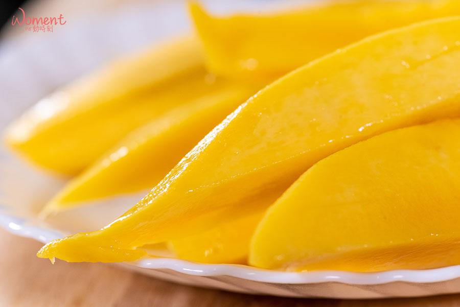 水蜜桃芒果-切塊