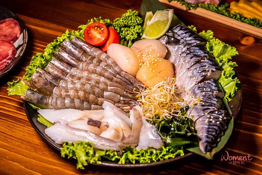 西門燒烤-喜多肉-海鮮拼盤