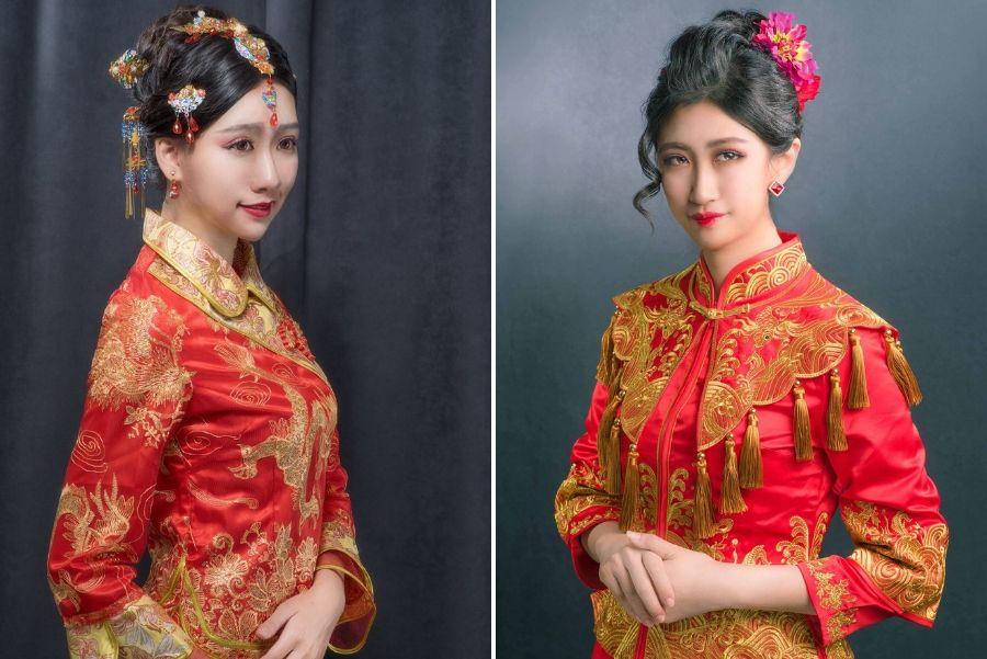 【中式禮服 ‧ 入門3款】 經典不敗中國風造型,現代媳婦優雅穿越,美到讓人難忘!