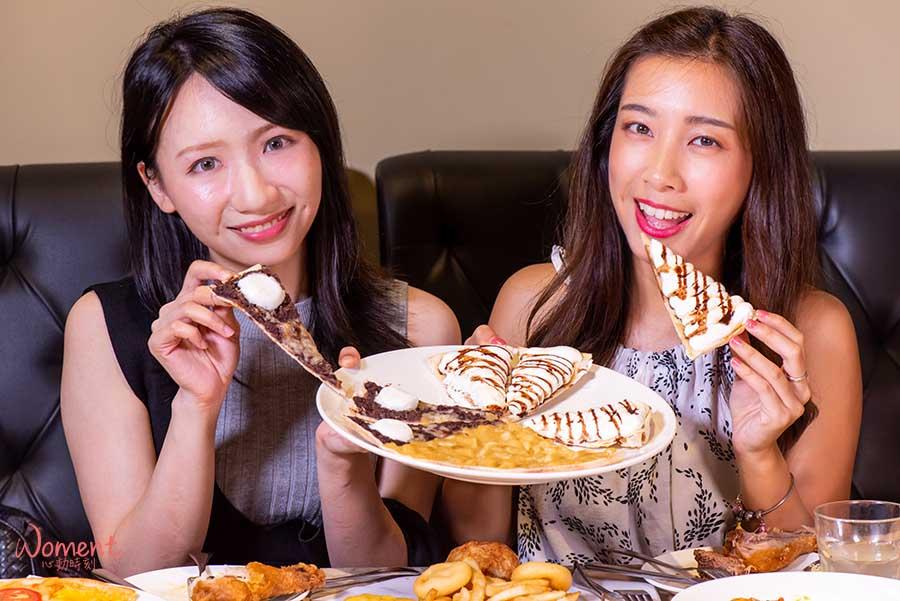 淡水輕軌美食-義米蘭-woment女孩吃甜點