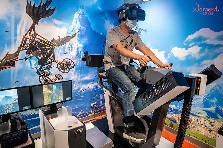 宏匯廣場-VR樂園-空中自行車