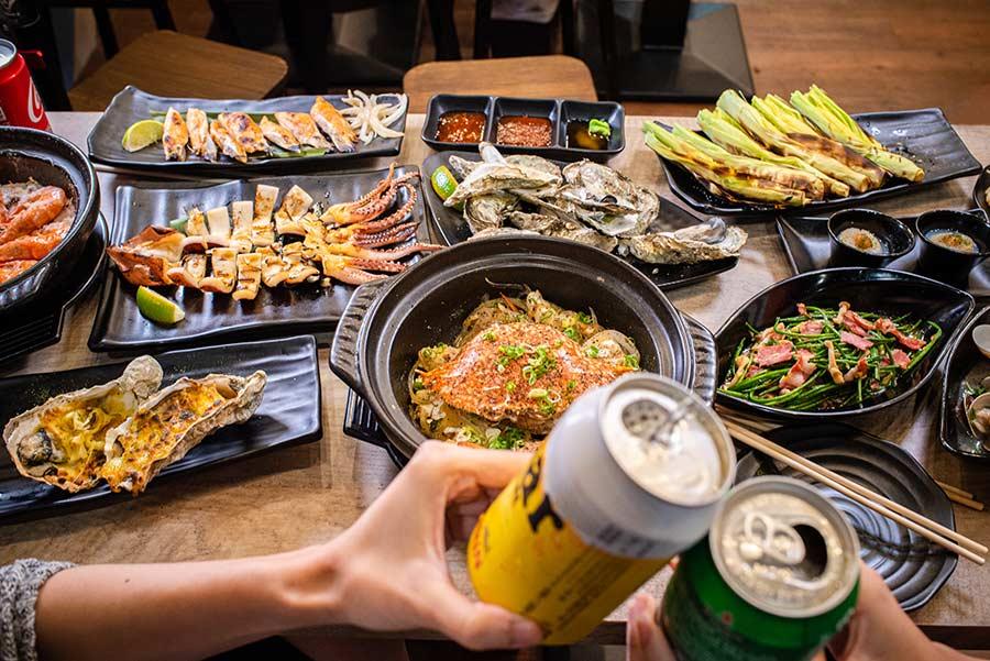 永和吃海鮮新選擇!百元海鮮燒烤「大船」,以居酒屋規格提供平價的新鮮創意料理,是在地人晚餐、宵夜好選擇(已歇業)