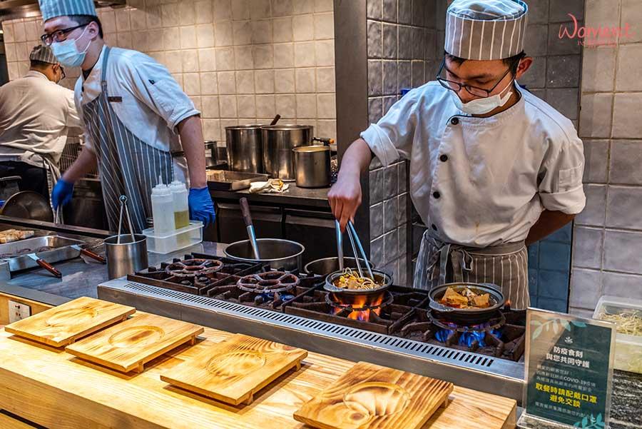 蔬食素食餐廳-吃到飽推薦果然匯 - 現點現做鍋物料理