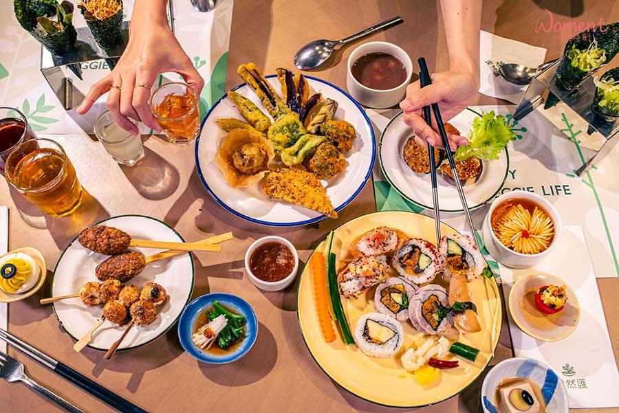 蔬食素食餐廳-吃到飽推薦果然匯 - 自助取用菜色豐富