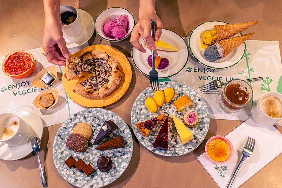 蔬食吃到飽餐廳「果然匯」以新鮮原型食材變化異國菜系,攻佔蔬食buffet推薦首選,料理不僅多樣豐富,創意更是精緻到位