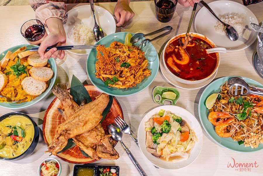 泰國菜推薦泰式餐廳-饗泰多-泰國各地菜色